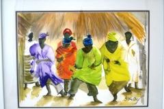 African Village Dancers