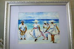 Trinidad Band on Beach