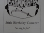Choir 20th Birthday